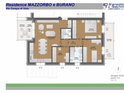 Residence Mazzorbo - A2