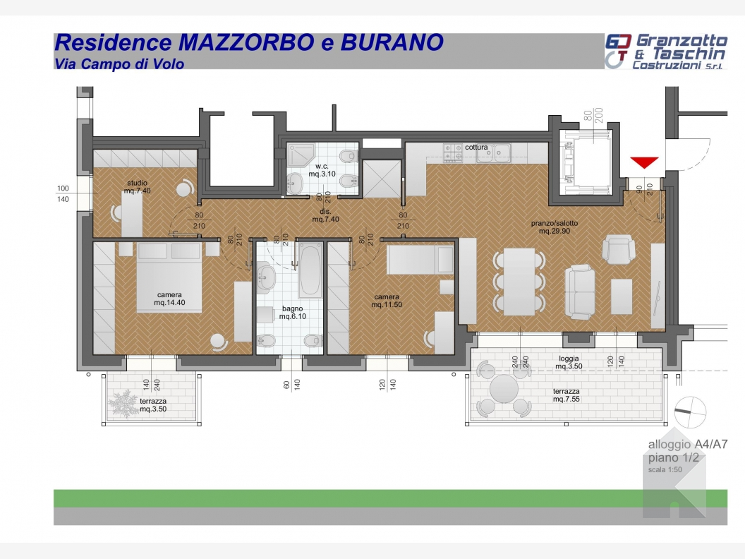 Residence Mazzorbo - A4